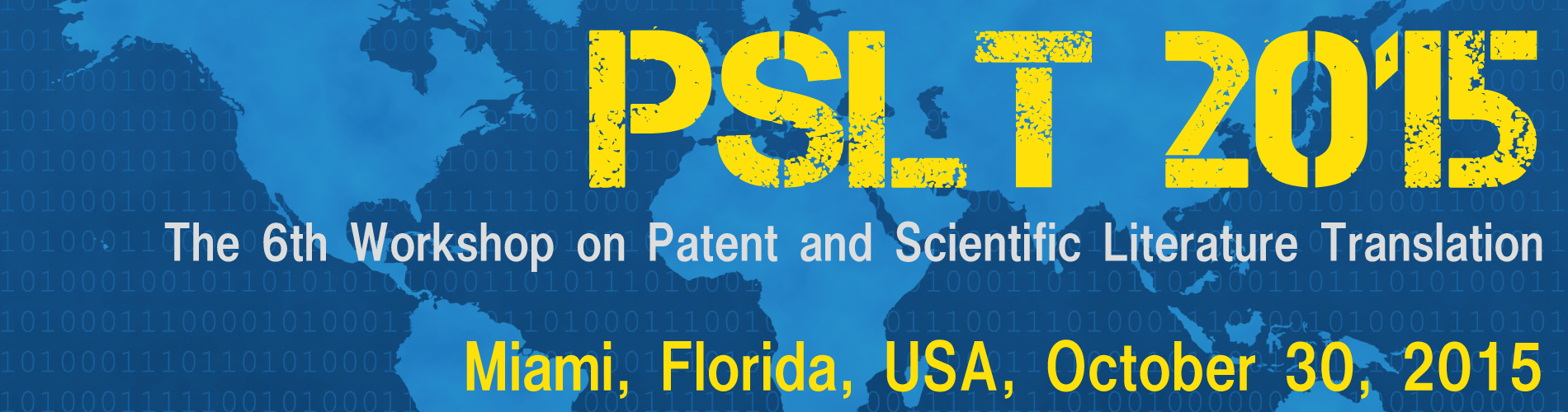 Invited talks | PSLT 2015
